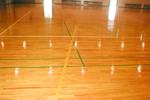 体育館 床面クリーニング